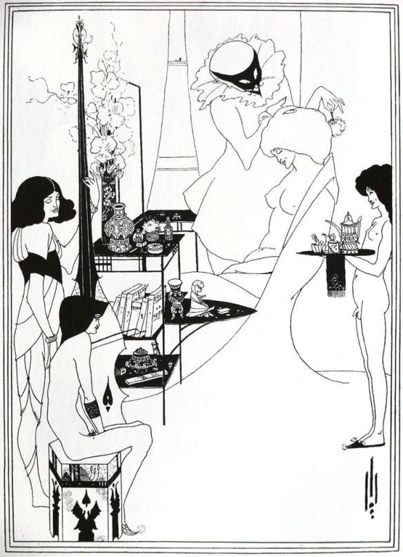 A. Beardsley - The Toilet of Salome