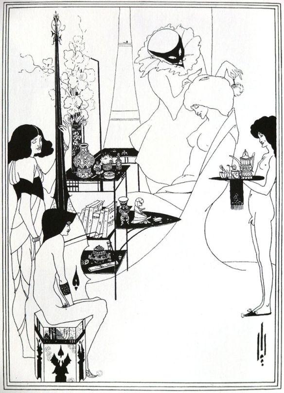 A. Beardsley - The Toilet of Salome