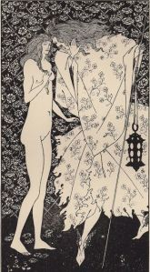 A. Beardsley - The misterious rose garden