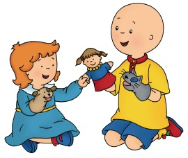 caillou_rosie_play