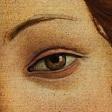 """Detalle de """"La Primavera"""" de Botticelli."""