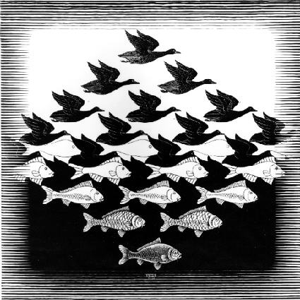 Escher-Sky-and-Water-I-1938