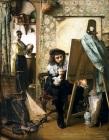 Vermeer en su estudio